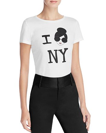 Alice and Olivia - Stace Face I Love NY Tee
