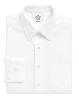 Brooks Brothers - Solid Non-Iron Classic Fit Dress Shirt