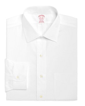 Brooks Brothers - Non-Iron Solid Classic Fit Dress Shirt