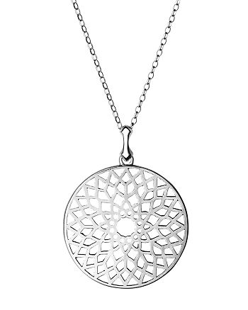 Links of London - Sterling Silver Timeless Pendant Necklace, 32""
