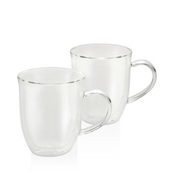 Bonjour - Insulated Latte Cups, Set of 2