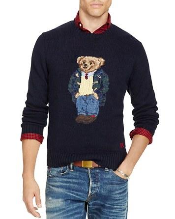 $Polo Ralph Lauren Bear Sweater - Bloomingdale's