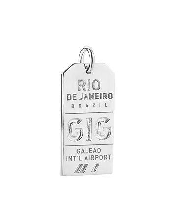Jet Set Candy - GIG Rio de Janeiro Luggage Tag Charm