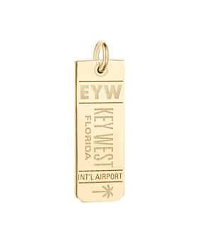 Jet Set Candy - EYW Key West Luggage Tag Charm