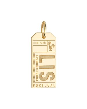 Jet Set Candy Lis Lisbon Luggage Tag Charm