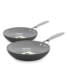 "GreenPan - Paris Pro 10"" and 12"" Fry Pan Set"