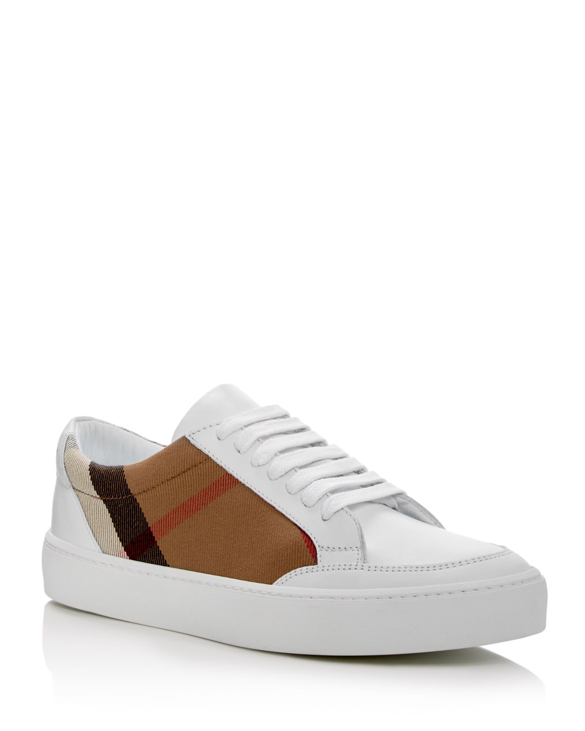 Burberry Salmond Lace Up Sneakers