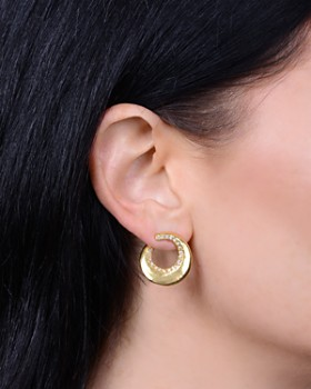 Melissa Lovy - Blake Hoop Earrings