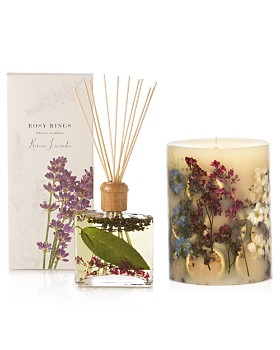Rosy Rings - Roman Lavender Candle & Diffuser