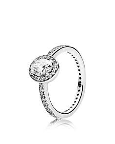 PANDORA - Ring - Sterling Silver & Cubic Zirconia Vintage Elegance