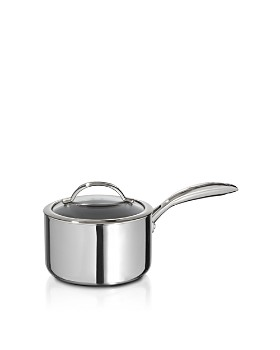 Scanpan - CTP Mirror Polished Stainless Steel 2-Quart Covered Sauce Pan - 100% Exclusive