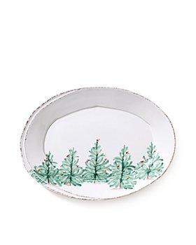 VIETRI - Lastra Holiday Small Oval Platter