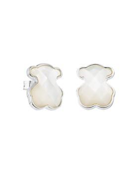 TOUS - Mother-of-Pearl Bear Stud Earrings