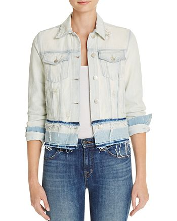 J Brand - Deena Denim Jacket in Ecstasy