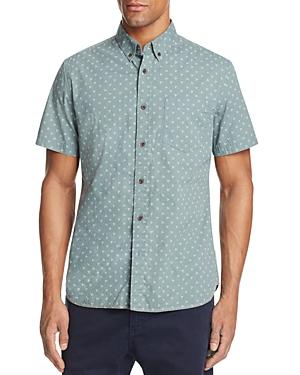 Surfside Supply Dot Print Regular Fit Button-Down Shirt