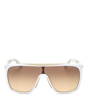 Givenchy - Women's Square Shield Sunglasses, 128mm