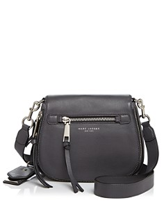 MARC JACOBS - Recruit Nomad Small Leather Saddle Bag