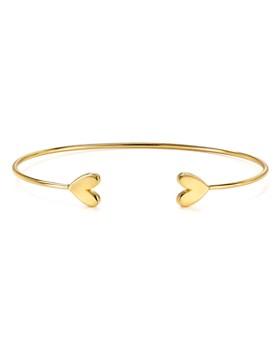 Argento Vivo - Heart Cuff Bracelet