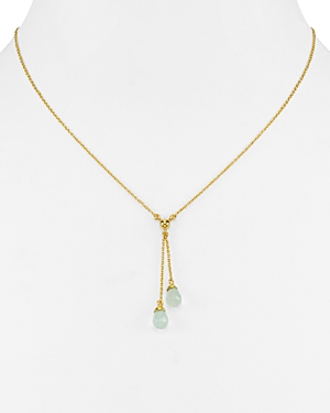 Argento Vivo Double Lariat Necklace, 16
