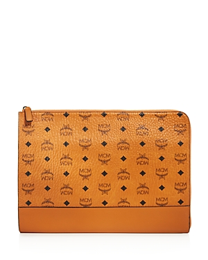 Mcm Claus Pouch with Half Zip