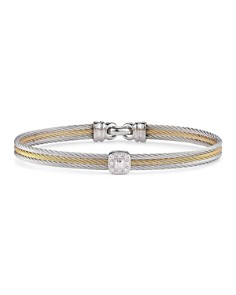 ALOR Diamond Stacked Cable Bangle - Bloomingdale's_0