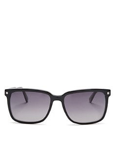 Ermenegildo Zegna Crystal Square Sunglasses, 56mm - Bloomingdale's_0