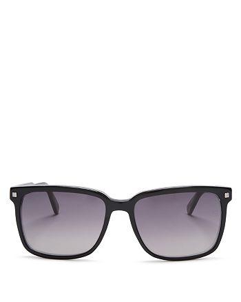 Ermenegildo Zegna - Men's Crystal Square Sunglasses, 56mm