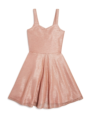 Sally Miller Girls Flared Shimmer Dress  Big Kid
