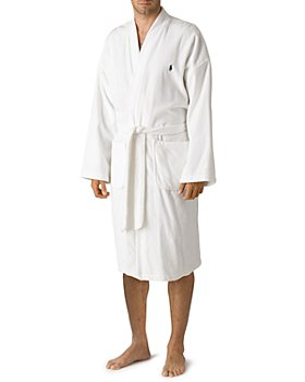 Polo Ralph Lauren - Polo Ralph Lauren Men's Kimono Cotton Velour Robe
