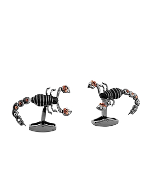 Tateossian Mechanical Scorpion Cufflinks