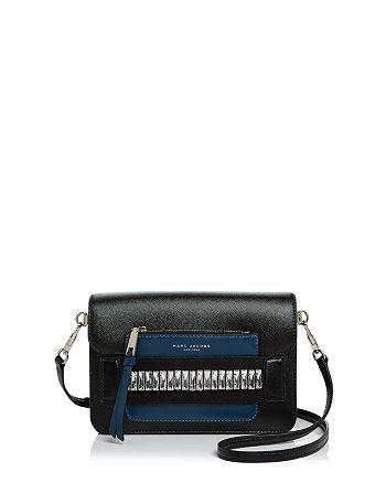0308a0785bd4 MARC JACOBS Madison Medium Embellished Saffiano Leather Shoulder Bag ...