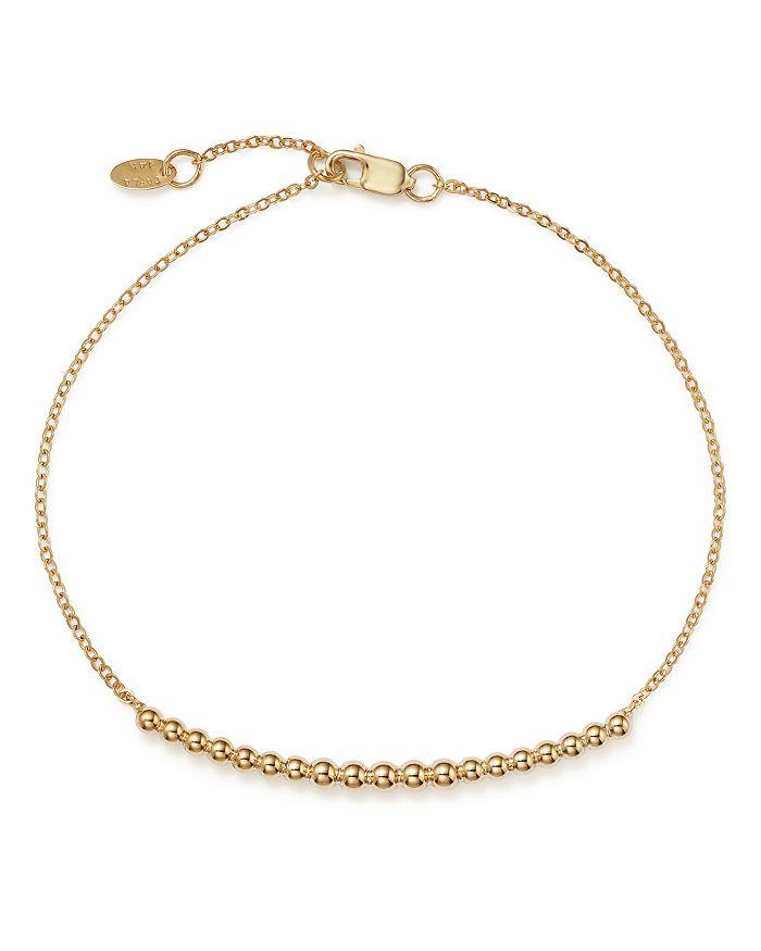 Bloomingdale's - Graduated Bead Bracelet in 14K Yellow Gold  - 100% Exclusive