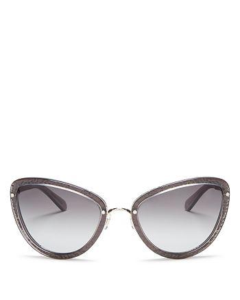 kate spade new york - Women's Klaudia Cat Eye Sunglasses, 57mm