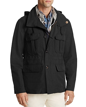Billy Reid Hooded Field Jacket