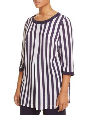 Marina Rinaldi Filo Stripe Tunic