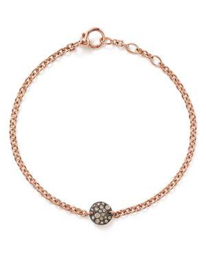 POMELLATO Sabbia Bracelet With Brown Diamonds In 18K Rose Gold