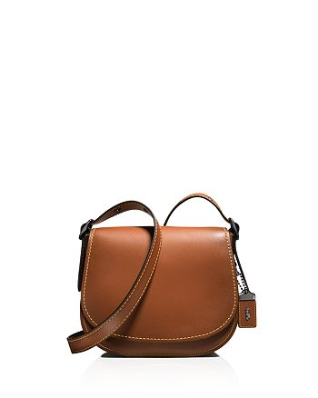 c7b11b470f38 COACH - Glovetanned Saddle Bag 23