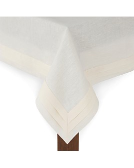"Matouk - Lucerne Tablecloth, 70"" x 144"""