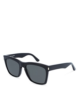 Saint Laurent - Men's Oversized Rectangular Sunglasses, 55mm