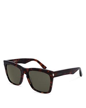 Saint Laurent Oversized Rectangular Sunglasses, 55mm
