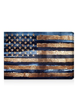 Oliver Gal - Rocky Navy Freedom Wall Art