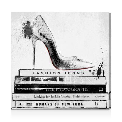 """Fashion Icons Wall Art, 10"""" x 10"""""""