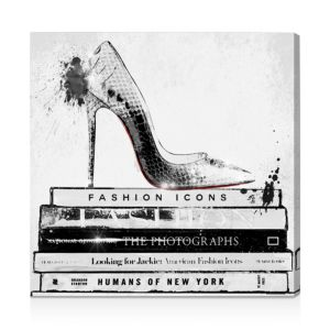 Oliver Gal Fashion Icons Wall Art, 24 x 24