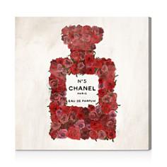 Oliver Gal Number 5 Red Rose Wall Art - Bloomingdale's_0