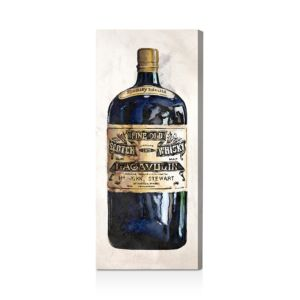 Oliver Gal Fine Old Whiskey Wall Art, 12 x 30