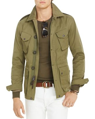 Polo Ralph Lauren Cotton Blend Utility Jacket | Bloomingdale's