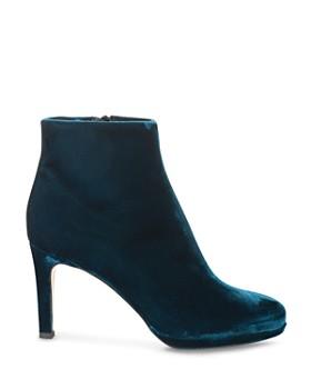 HOBBS LONDON - Women's Julietta Velvet High Heel Booties