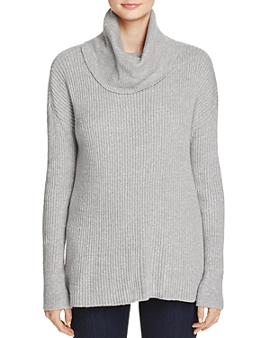 cupcakes and cashmere Josh Ribbed Turtleneck Sweater