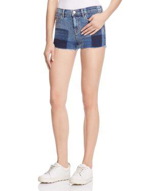 J Brand Mid Rise Cutoff Denim Shorts in Zenith