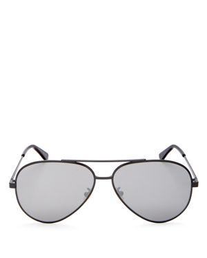 Saint Laurent Classic Zero Mirrored Aviator Sunglasses, 59mm